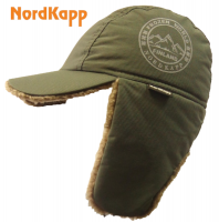 Кепка-ушанка NordKapp Frozen World khaki