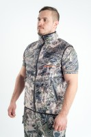 Жилет King Hunter Warm Camo Gray