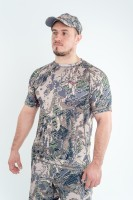 Футболка King Hunter Volution Camo Gray