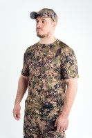Футболка King Hunter Volution Camo Green